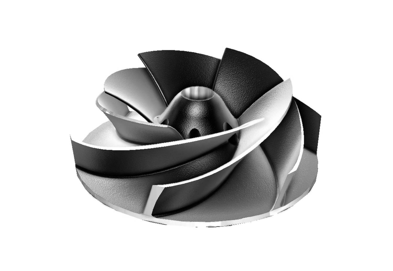 Fabricante de repuestos a medida para Caracoles de bombas industriales de pasta de papel
