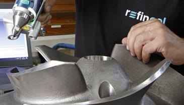 Fabricante de piezas a medida para depuradoras, pulpers, bombas, refinos